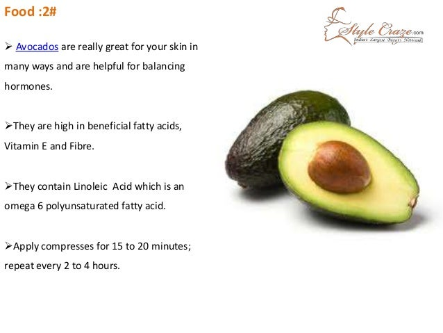 Foods That Help Get Rid Of Pimples