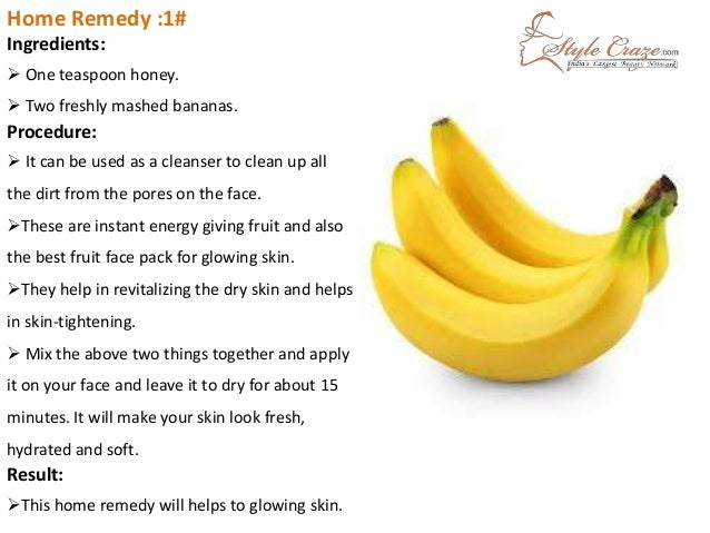 Facial home remedies