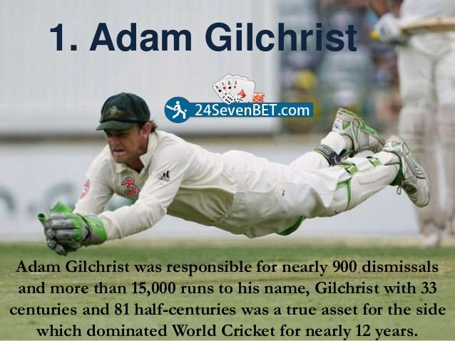 Top 5 greatest wicket keepers of all time Slide 3