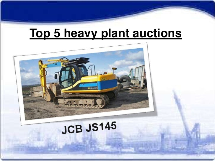 Top 5 heavy plant auctions