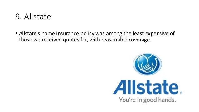 Top 5 homeowners insurance companies usa