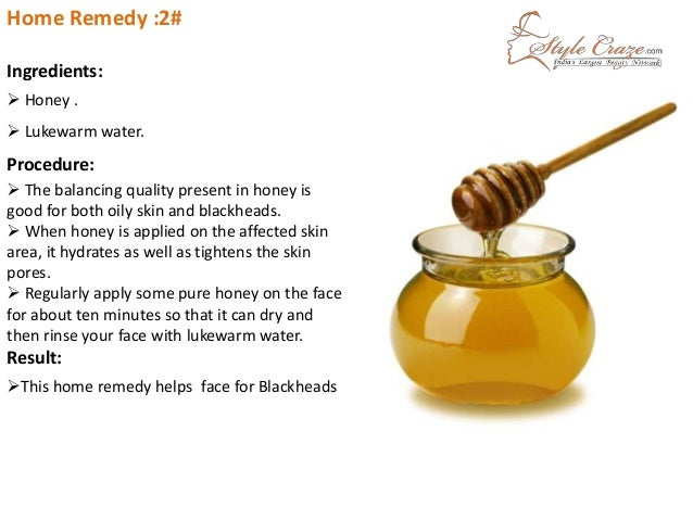 Home Remedies Honey For Acne