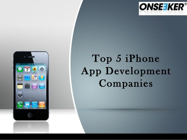 Top 5 iPhoneApp Development   Companies