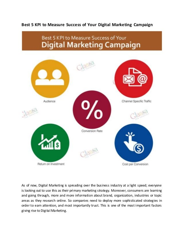 Top  Kpis To Measure Success Of Digital Marketing Campaign