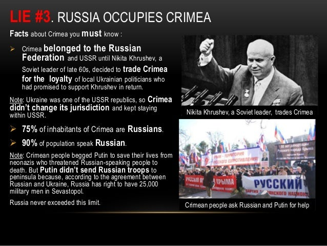 Image result for crimea lies