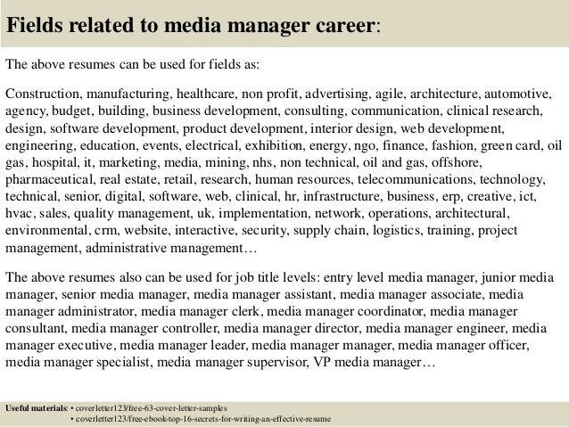 Resume Cover Letter Brand Manager Resume Maker Create Aploon Objectives  Examples Media Buyer Resume Samples Media
