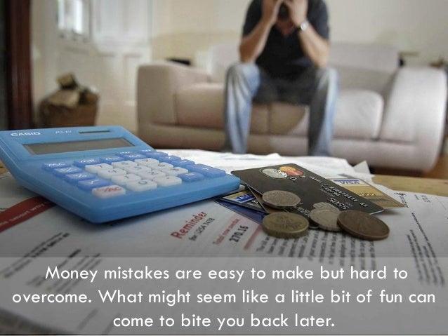 Top 5 Money Mistakes Made by Millennials Slide 2