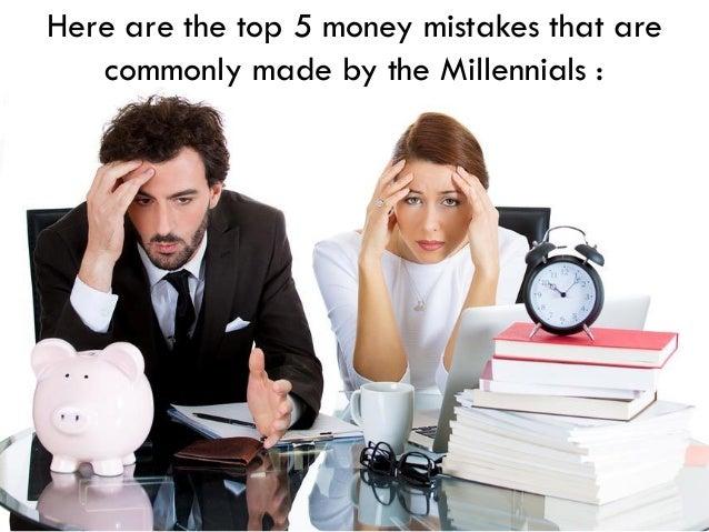 Top 5 Money Mistakes Made by Millennials Slide 3