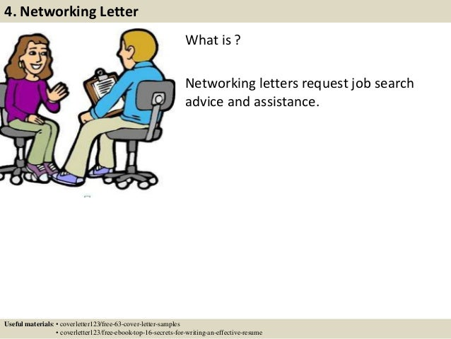 8 what is networking letters cover letter network administrator