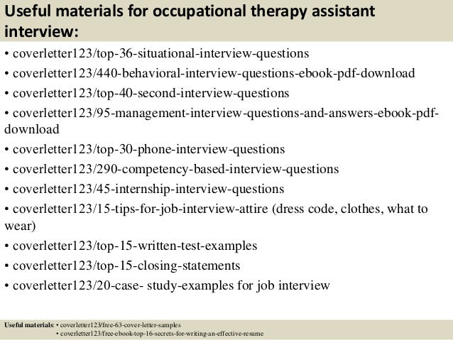 Occupational Therapy Assistant (OTA) we will write your essay for you