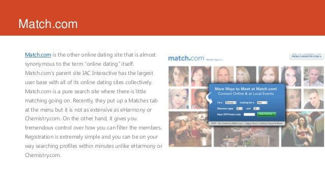 Online dating sites match.com