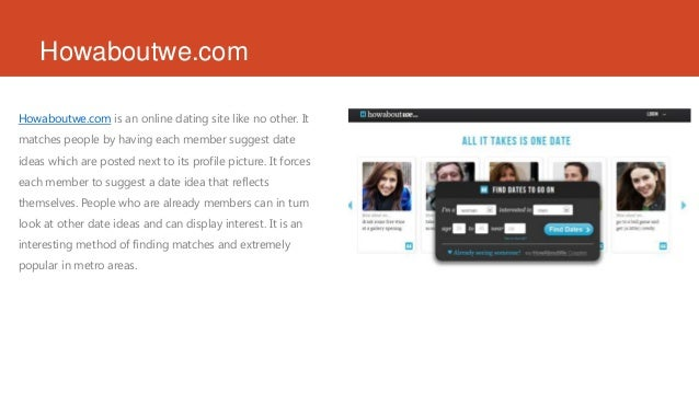 Top three online dating sites