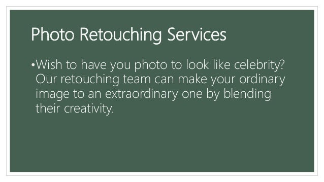 Top 5 photo editing services