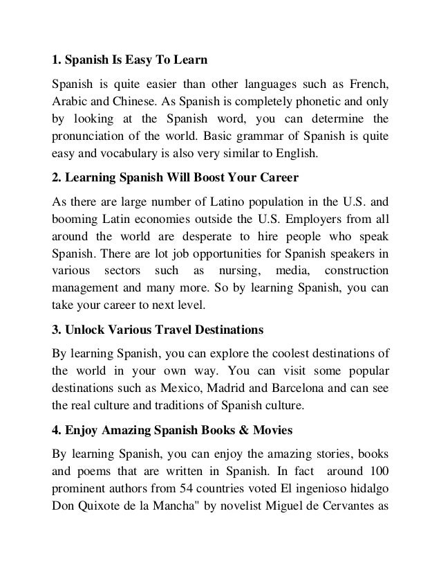 Learn Spanish – Learn to Speak Spanish with the Michel ...