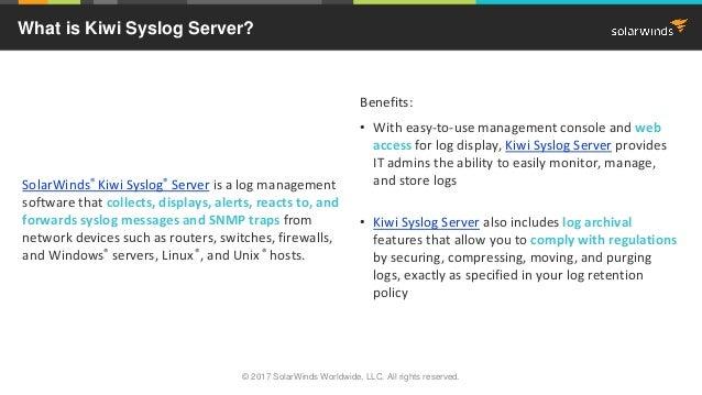 kiwi syslog server full version free