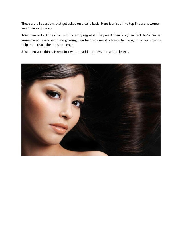 Top 5 Reasons Why You Buy Extensions From Hair Extensions Suppliers