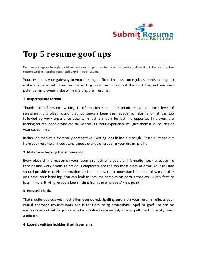 ups resume