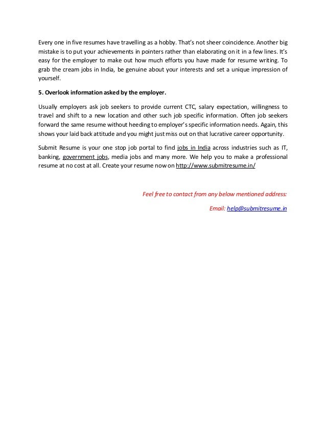 job specific cover letters
