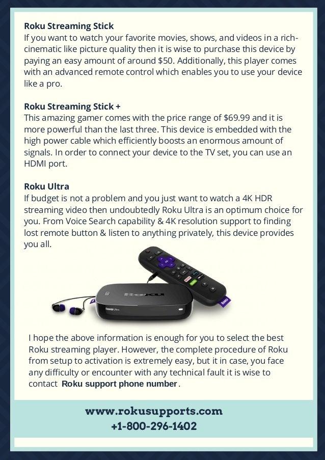 Top 5 Roku Streaming Players