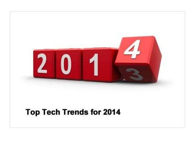 Mobile App Development  Top 5 Technology Trend of 2014