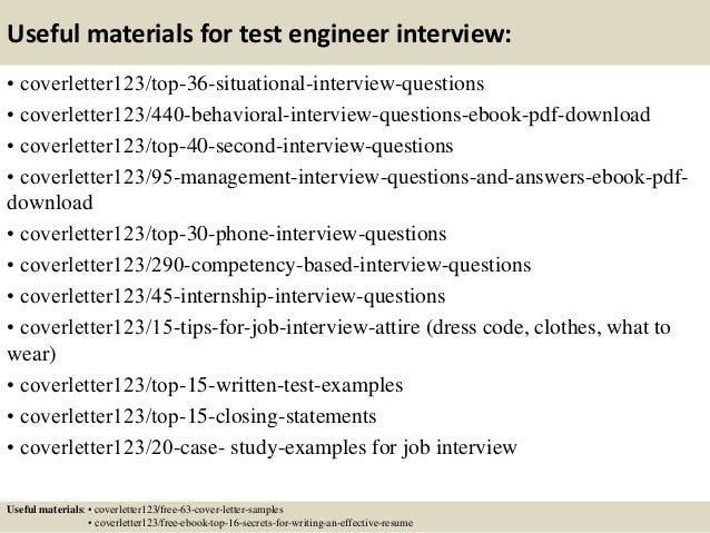 Top 5 test engineer cover letter samples 12 useful materials for test spiritdancerdesigns Image collections