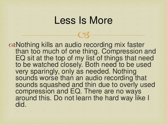 Strange Top 5 Tips For A Better Final Mix In The Home Audio Recording Studio Largest Home Design Picture Inspirations Pitcheantrous