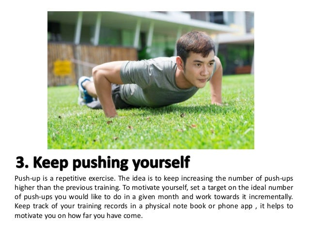 Top 5 tips for ippt training (push ups)