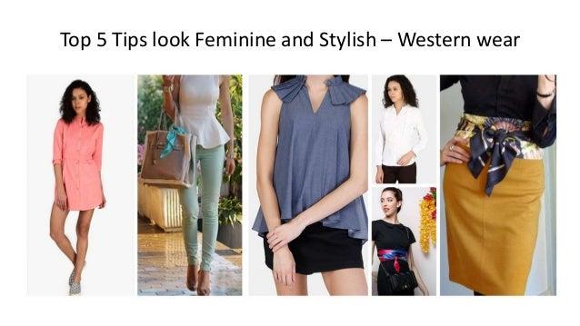top 5 tips look feminine and stylish women western wear