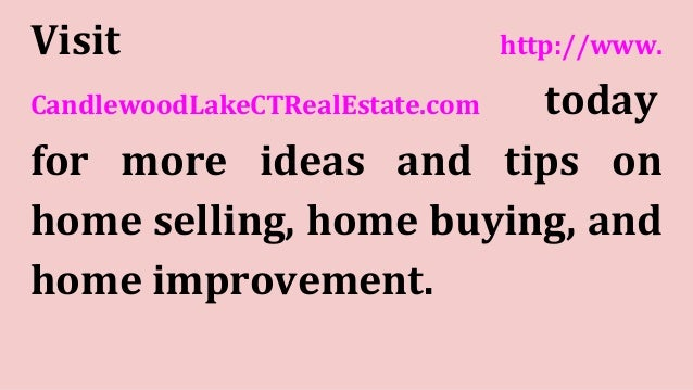 Top 5 tips to attract buyers to your candlewood lake and for Best app for home buying