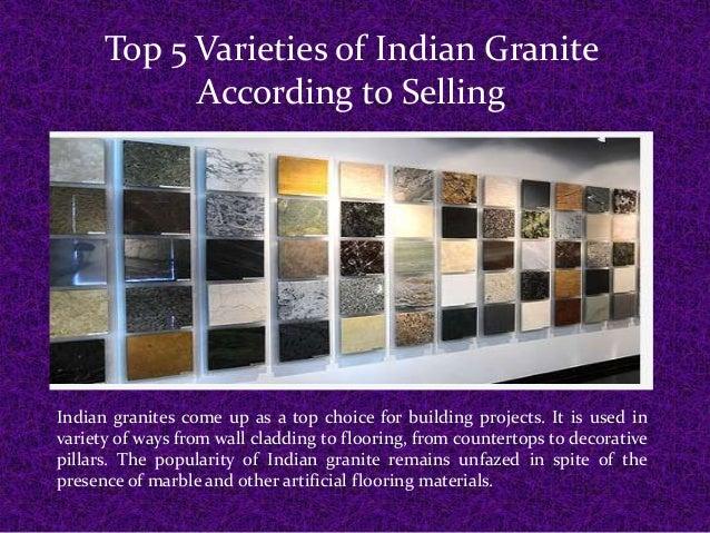 Genial Top 5 Varieties Of Indian Granite According To Selling Indian Granites Come  Up As A Top ...