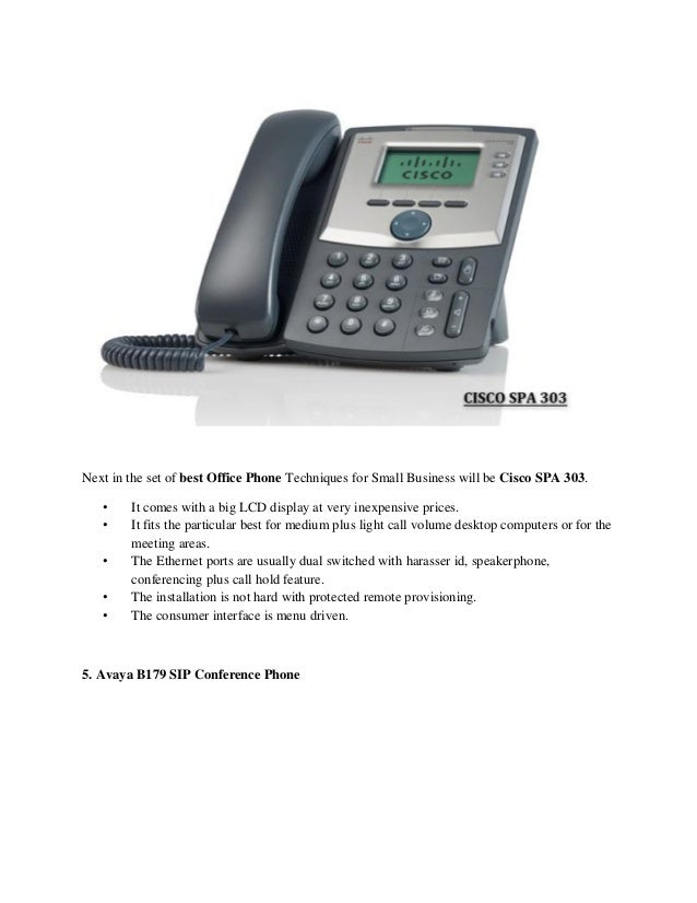 Top 5 Voip Phones For Small Business 2019
