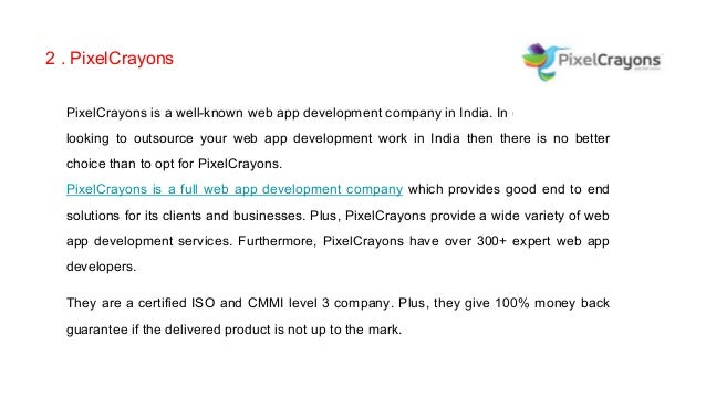 Top 5 Web App Development Companies Across The Globe