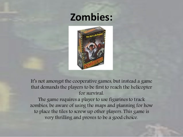 Top 5 zombie and horror board games