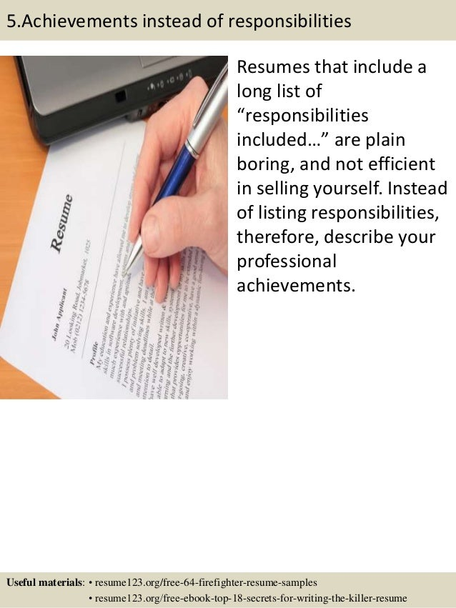 buyer resume examples accomplishment lists