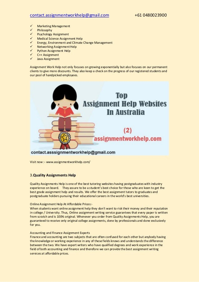 best assignment writers site for masters