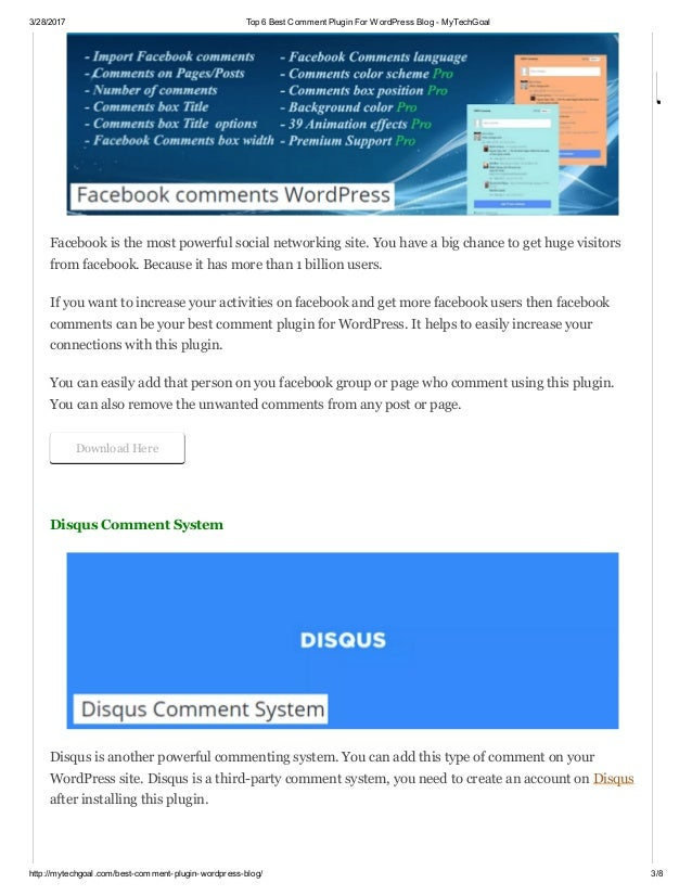 Top 6 best comment plugin for word press blog