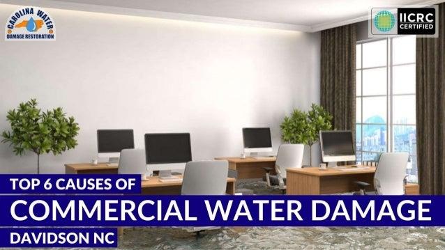 INDEX Introduction Major Causes of Water Damage • Damaged Sprinkler System • Roof Leaks • Broken HVAC System • Broken Equi...