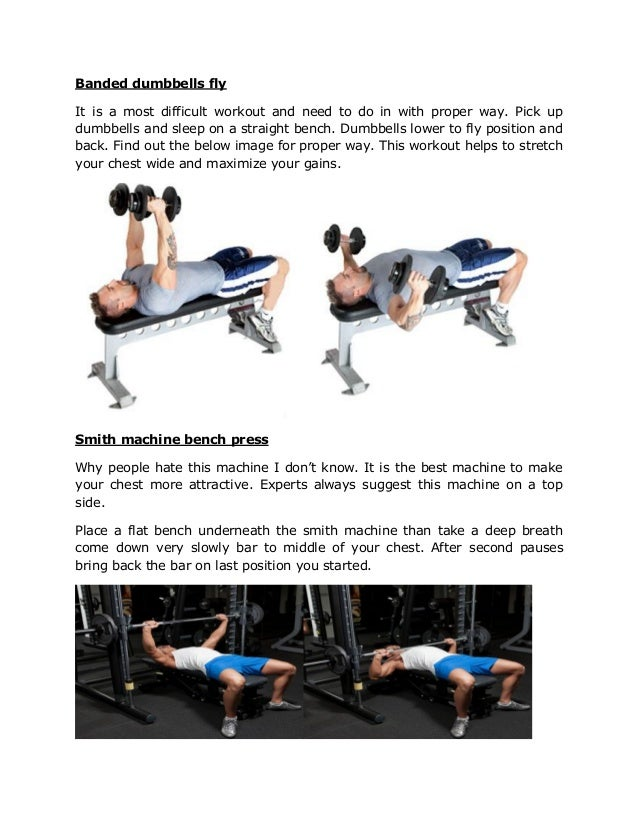 Top 6 Chest Workout Tips To Get Attractive Size Play Fitness