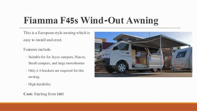 Top 7 Awnings For Your Caravan 2 Fiamma F45s Wind Out