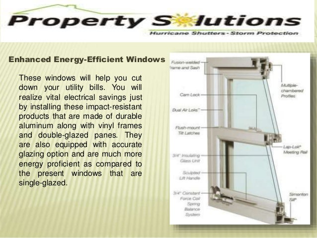 Enhanced Energy-Efficient Windows  These windows will help you cut  down your utility bills. You will  realize vital elect...