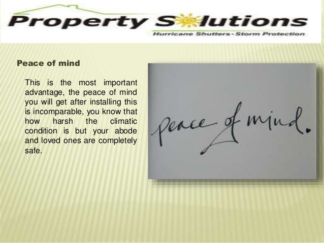 Peace of mind  This is the most important  advantage, the peace of mind  you will get after installing this  is incomparab...