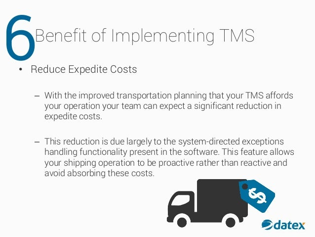 The Top 7 Benefits of Implementing a Transportation