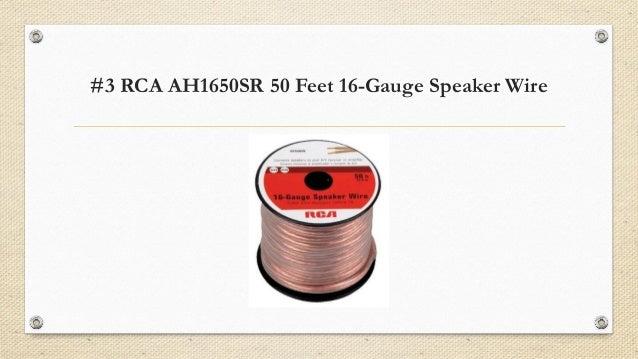 Top 7 best speaker wires in 2018