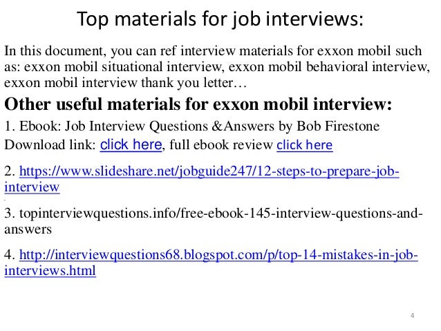 Top 38 exxon mobil interview questions and answers pdf