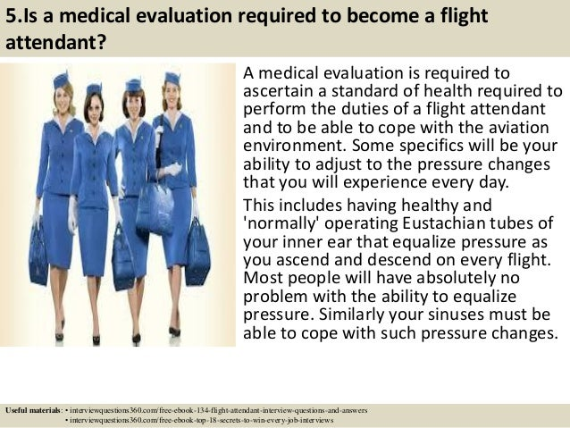 134 flight attendant interview questions and answers pdf