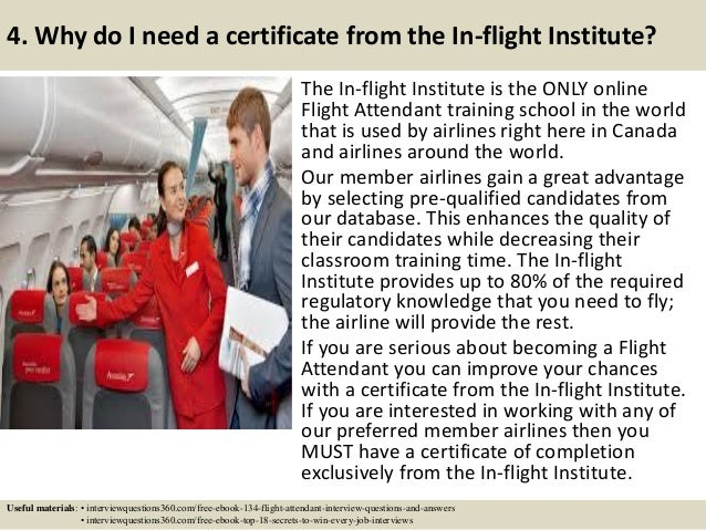 top 7 flight attendant interview questions answers