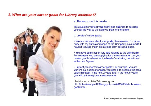 interview questions and answers - Librarian Interview Questions For Librarians With Answers