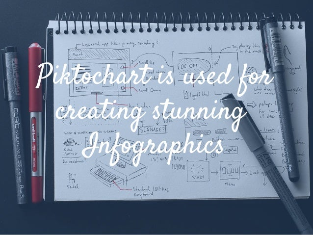 Piktochart is used for creating stunning Infographics