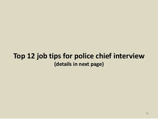 Police chief interview questions and answers leoncapers police chief interview questions and answers top 20 police chief interview questions answers fandeluxe Images