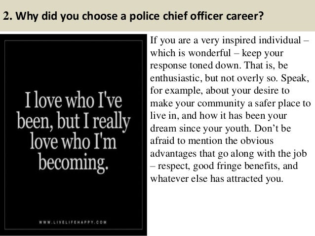 top 20 police chief interview questions answers